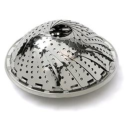 Steam Cooking Vegetable Steamer collapsible,Stainless Steel