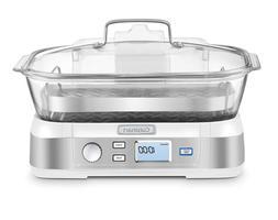 Cuisinart STM-1000W Cookfresh Digital Glass Steamer White