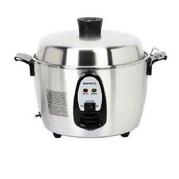 Tatung TAC-06KN 6-Cup Multi-Functional Indirect Heat Stainle
