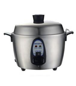 Tatung TAC-06KN 6 Cups Indirect Heating Stainless Steel Rice
