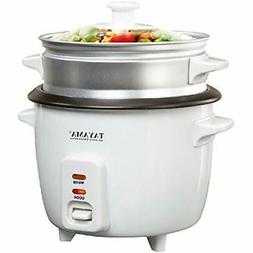 "Tayama 3 Cup Rice Cooker With Steamer Kitchen "" Dining"