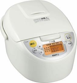 TIGER IH rice cooker cooked 5.5 Go cook JKD-V100-W White