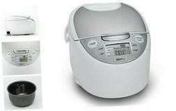 Tiger JAX-S10U-WY 5.5-Cup  Micom Rice Cooker & Warmer, Steam