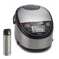 TIGER JAX-T Microcomputer Controlled Rice Cooker/Warmer  wit