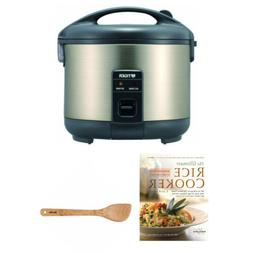 Tiger JNP-S15U 8-Cup Conventional Rice Cooker with Cookbook