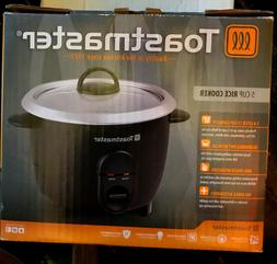 Toastmaster TM-52RC 5-Cup Rice Cooker, Black