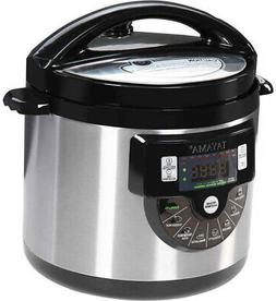 Tayama TMC-60SS Electric Pressure Cooker with Stainless Stee
