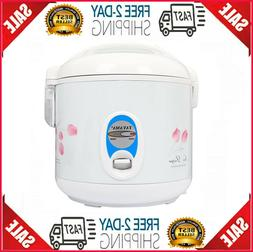 TRC-04 Cool Touch 5-Cup Rice Cooker and Warmer with Steam Ba