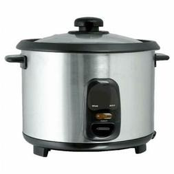 Brentwood TS-10 5 Cup - 1.0 Liter - Rice Cooker - Stainless