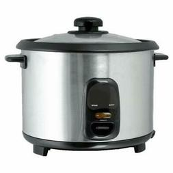 Brentwood TS-15 8 Cup - 1.5 Liter - Rice Cooker - Stainless