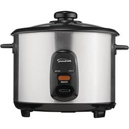 BRENTWOOD TS-20 Stainless Steel 10-Cup Rice Cooker Home & Ga