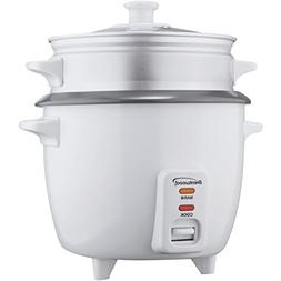 Brentwood TS-480S Rice Cooker with Steamer, 15-Cup by Brentw