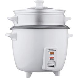 Brentwood Ts-480s 15-cup Rice Cooker With Steamer; White