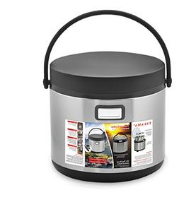 Tayama TXM-E60CF Food Warmer in One Thermal Cooker, 6 Qt, Bl