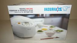 Umami Micom 9.37 Rice cooker and Warmer in Pearl White