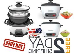 Uncooked Rice Cooker and Food Steamer 3 to 28 Cup Cooked War