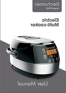 Elechomes User Manual for Rice Cooker CR502