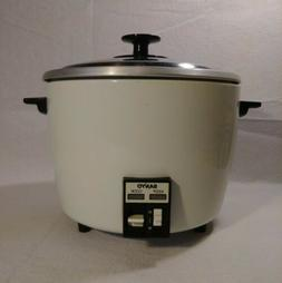 Vintage Sanyo Rice Cooker 10 Cup MALAYSIA Almond Color Compl