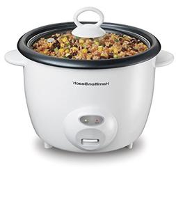 Hamilton Beach® 20-Cup White Rice Cooker and Food Steame