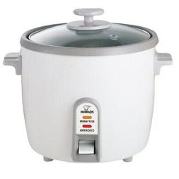 Zojirushi White Rice Cooker/ Steamer  6 cup  6 cup