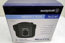 Westinghouse Wrc201b Small Appliance 14-Cup Rice Cooker Blac