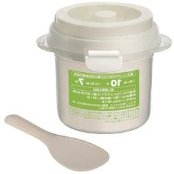 ya07590 Microwave rice cooker and steamer Made in Japan 1 cu