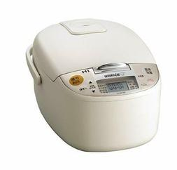 Zojirushi extremely rice cooker 55 Go IH-type cook light bei