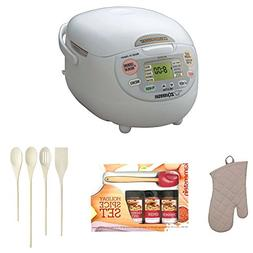Zojirushi NSZCC18WZ Neuro Fuzzy Rice Cooker & Warmer + Oven