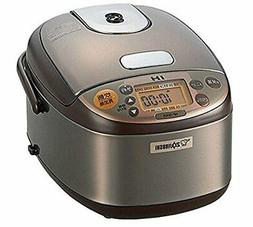 *Zojirushi rice cooker IH Formula 3 Go cook stainless Brown